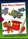 How Many Hippos?: A Mix-And-Match Counting Book (Time-Life Early Learning Program Series)