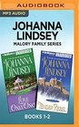 Johanna Lindsey Malory Family Series Books 12 Love Only Once  Tender Rebel