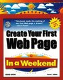 Create Your First Web Page In a Weekend (In a Weekend)