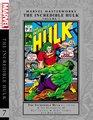 Marvel Masterworks The Incredible Hulk - Volume 7