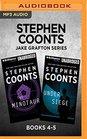 Stephen Coonts Jake Grafton Series Books 4-5 The Minotaur  Under Siege