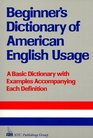 Beginner's Dictionary of American English Usage