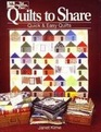 Quilts to Share Quick and Easy Quilts