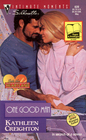 One Good Man (Into the Heartland, Bk 2) (Silhouette Intimate Moments, No 639)