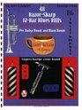 48 Razor-Sharp 12-Bar Blues Riffs for Swing Bands and Blues Bands: B Flat Instruments Edition (Red Dog Music Books Razor-Sharp Blues Series)