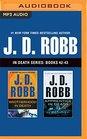 J D Robb In Death Series Books 42-43 Brotherhood in Death Apprentice in Death