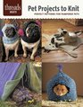 Pet Projects to Knit perfect patterns for pampered pets