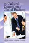 Cultural Dimension of Global  Business The