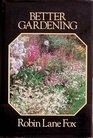 Better gardening