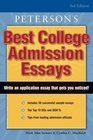 Peterson's Best College Admission Essays