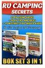 RV Camping Secrets BOX SET 3 IN 1 33 RV Living Hacks 50 RV Tips And Ideas  39 Mistakes You Should Avoid  For The Perfect RV Camping