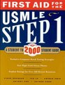First Aid for the USMLE Step 1 2000 A Student to Student Guide