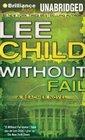 Without Fail, (Jack Reacher, Bk 6) (Audio CD-MP3) (Unabridged)