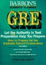 How to Prepare for the Gre Graduate Record Examination General Test