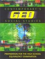 Contemporary's Ged: Social Studies (Contemporary's GED Satellite Series)