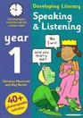 Speaking and Listening - Year 1 Photocopiable Activities for the Literacy Hour