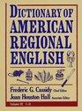 Dictionary of American Regional English: I-O (Dictionary of American Regional English)