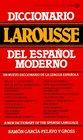 Diccionario Larousse del espaol moderno