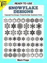 Ready-to-Use Snowflake Designs (Dover Clip-Art Series)