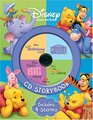 Disney Winnie the Pooh CD Storybook The Many Adventure of Winnie the Pooh / Piglet's Big Movie / Pooh's Heffalump Movie / The Tigger Movie