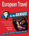 European Travel for the GENIUS