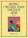 Helping Children Learn Language Arts