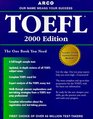 Arco Everything You Need to Score High on the Toefl 2000