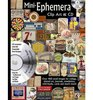 Mini Ephemera Book With Cd Over 400 small images for collage altered art journals newsletters mini books cards and much more