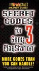 Secret Codes 3 for Sony Playstation