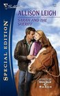 Sarah and the Sheriff (Return to the Double-C Ranch, Bk 2) (Men of the Double-C Ranch, Bk 9) (Silhouette Special Edition, No 1819)