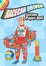 Racecar Driver Sticker Paper Doll