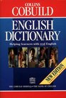 Cobuild English Language Dictionary 2nd Edition Helping Learners with Real English