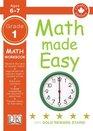 Math Made Easy Grade One Workbook