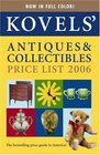 Kovels' Antiques  Collectibles Price List 38th Edition 2006