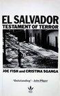 El Salvador Testament of Terror