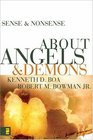 Sense  Nonsense About Angels and Demons