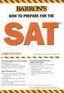 Barron's How to Prepare for the SAT I  20062007
