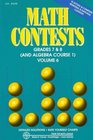 Math Contests Grades 7  8  Vol 6