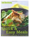 Fvourite Quick  Easy Meals