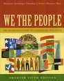 We the People An Introduction to American Politics Shorter Edition Fifth Edition
