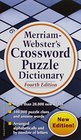 Merriam-Webster's Crossword Puzzle Dictionary Fourth Edition