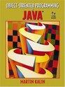 ObjectOriented Programming in Java