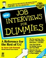Job Interviews for Dummies (For Dummies Series)