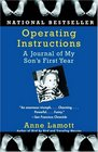 Operating Instructions  A Journal of My Son's First Year