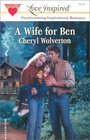 A Wife For Ben