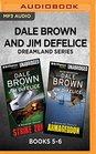 Dale Brown and Jim DeFelice Dreamland Series Books 5-6 Strike Zone  Armageddon