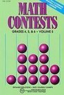 Math Contests Grades 45 and 6 School Years 1991-92 Through 1995-96