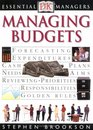 Managing Budgets (Essential Managers)