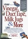 Yankee Magazine's Vinegar Duct Tape Milk Jugs  More