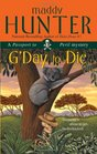 G'Day to Die (Passport to Peril, No 5)